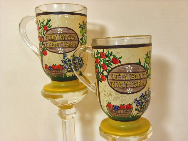 Custom Painted coffee mugs