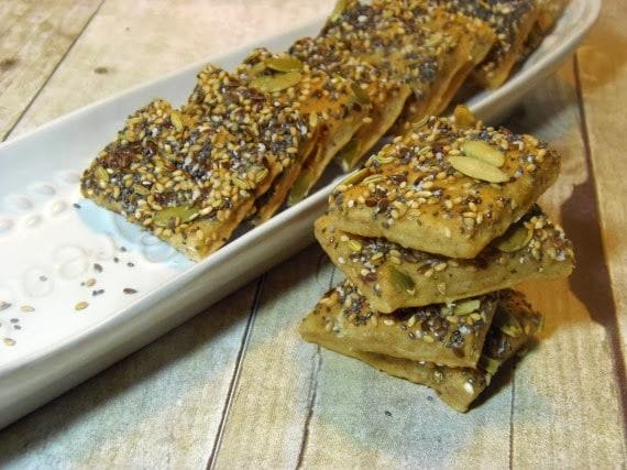 Savory Seed Cracker Recipe