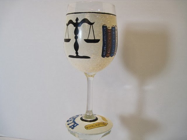lawyer wine glass
