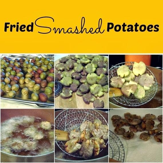 Fried Smashed Potato Recipe