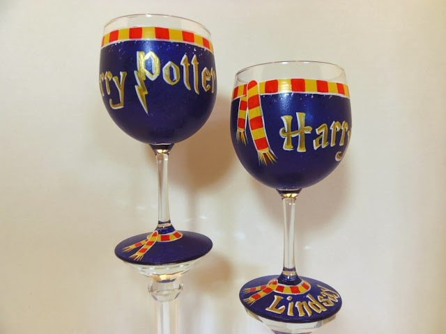 Harry Potter wine glasses