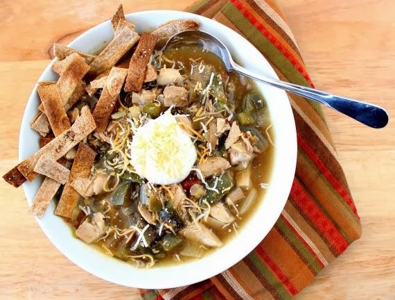 Kudos Kitchen By Renee - Chicken Fajita Soup Recipe
