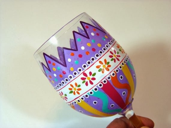 Kudos Kitchen By Renee - Moroccan Inspired Wine Glass
