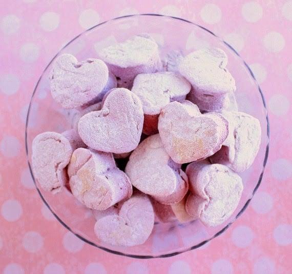 Kudos Kitchen By Renee - Homemade Heart Marshmallow Recips