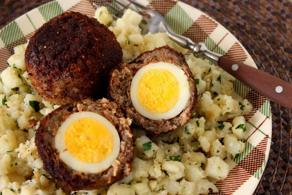 Scotch Eggs via Kudos Kitchen By Renee