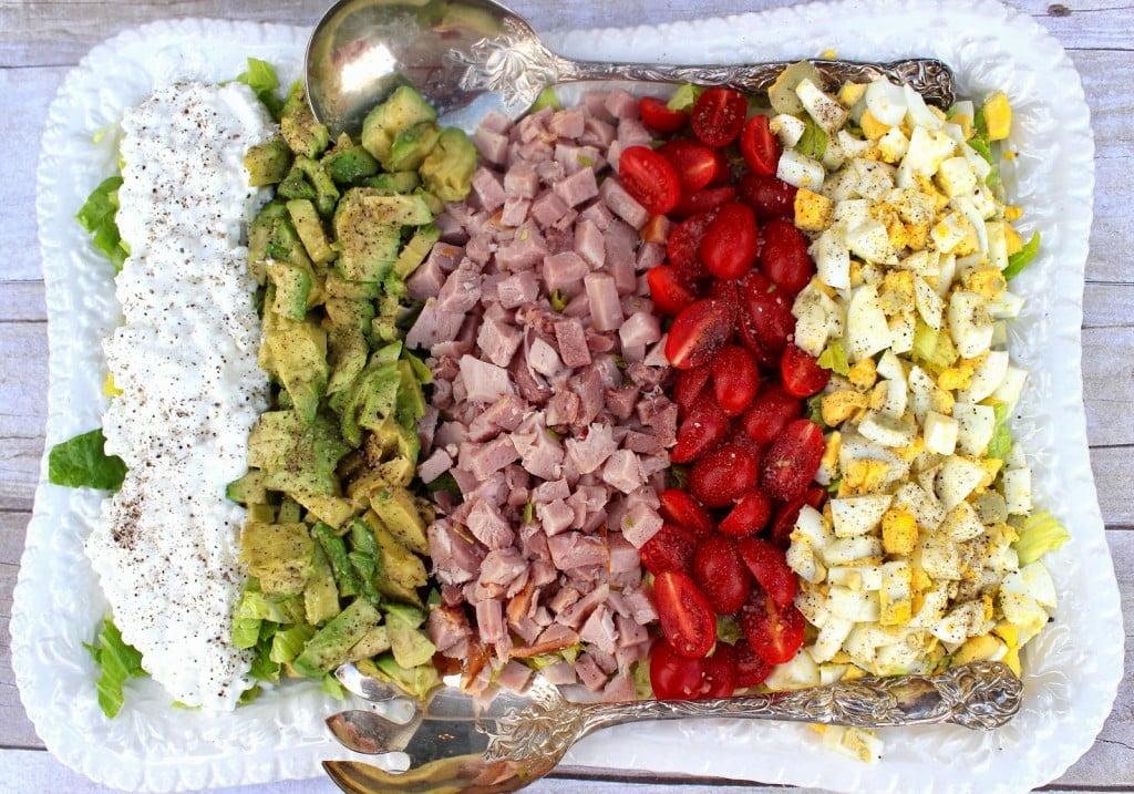 Kudos Cobb Salad Recipe via Kudos Kitchen by Renee