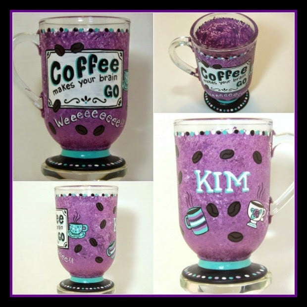 Coffee makes your brain go weeeee coffee mug via kudoskitchenbyrenee.com