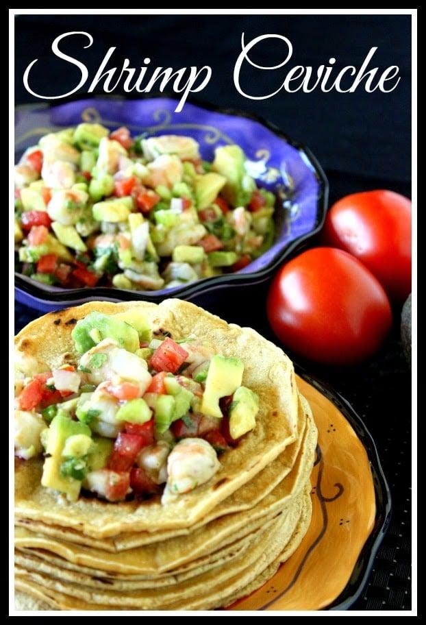 Shrimp Ceviche Recipe via kudoskitchenbyrenee.com