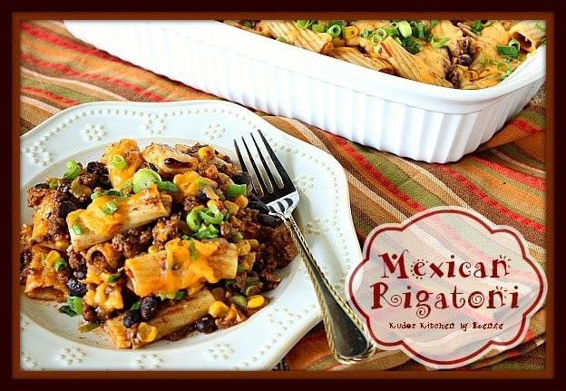Mexican Rigatoni Recipe