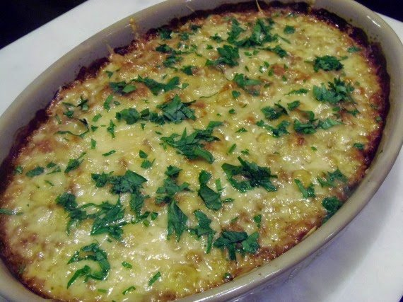 Farro and Onion Casserole / Kudos Kitchen by Renee