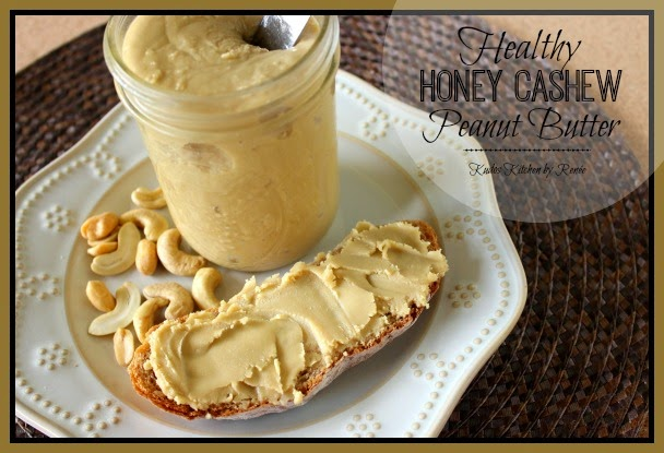 Healthy Honey Cashew Peanut Butter