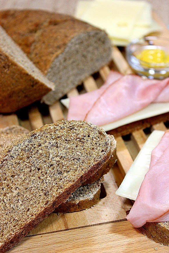 Homemade Rye Bread with Dill Recipe- Kudos Kitchen by Renee
