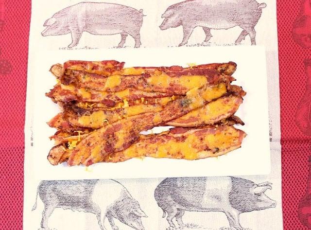 Cheesy Smoky Bacon Strips - kudoskithenbyrenee.com