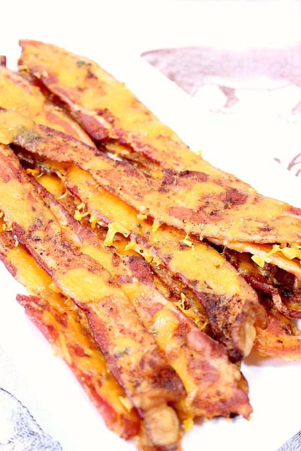 Cheesy Smoky Bacon Strips