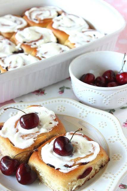 Sweet Cherry Rolls