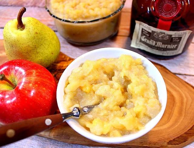Apple Pear Sauce with Grand Marnier