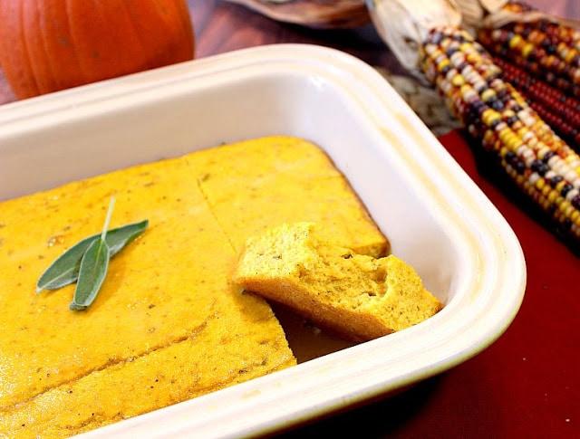 Pumpkin Sage Cornbread