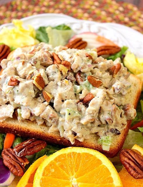 Orange Cashew Chicken Salad - www.kudoskitchenbyrenee.com