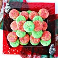 Best Ever Santa's Favorite Sugar Cookies