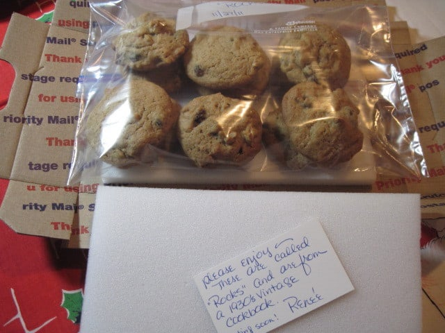 1930's Vintage Rocks Cookies ready for shipping - kudoskitchenbyrenee.com