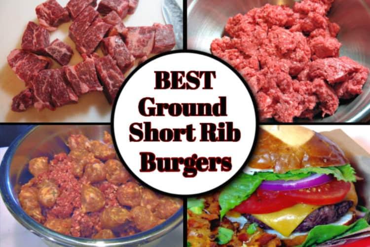 Ground Short Rib and Italian Sausage Burgers