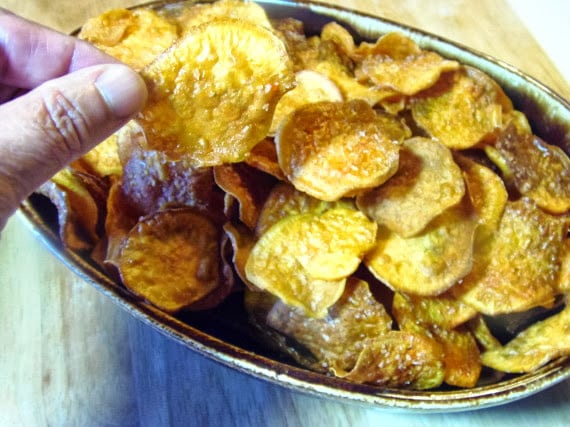 Smoky Sweet Potato Chip Recipe