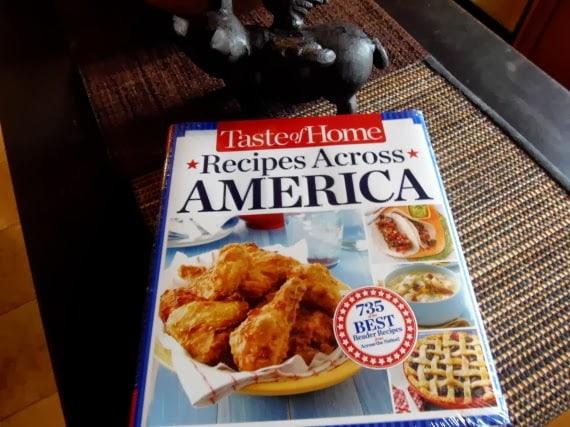 Taste Of Home Cookbook: Recipes Across America
