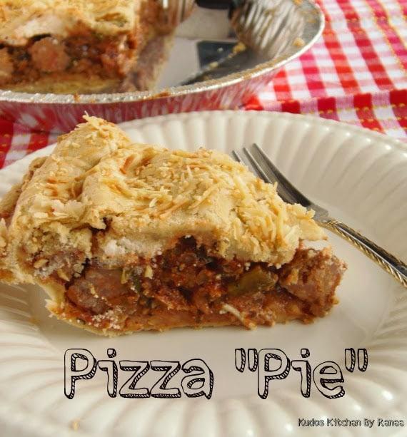 "Pizza ""Pie"" Recipe"