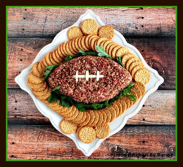 Football Cheese Ball Recipe