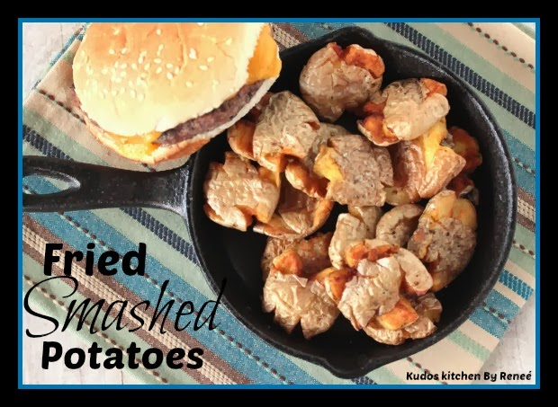 Fried Smashed Potato Recipe