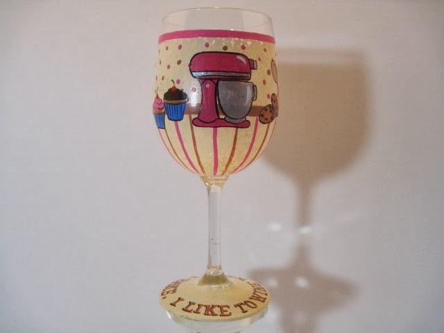 baking wine glass