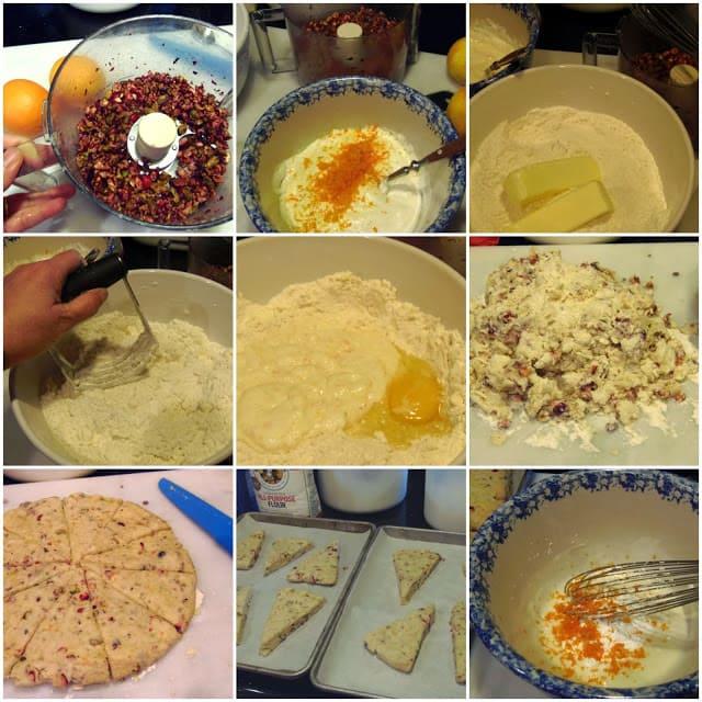 Cranberry Orange Pistachio Scone Recipe