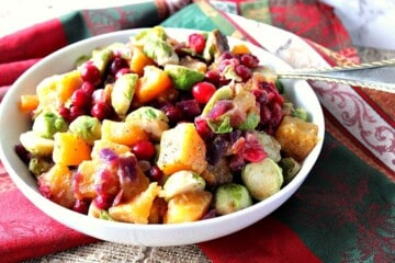 Easy Colorful Holiday Vegetable Saute