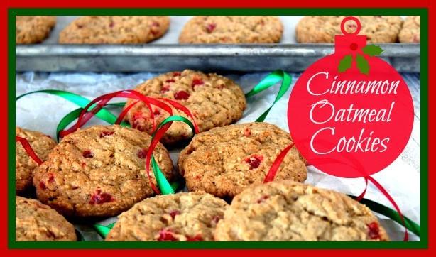 Cinnamon Oatmeal Cookie Recipe