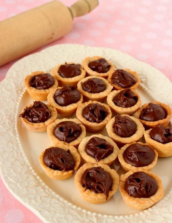 Nutella Cookie Cup Recipe