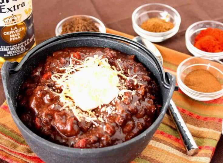 Mole Turkey Chili