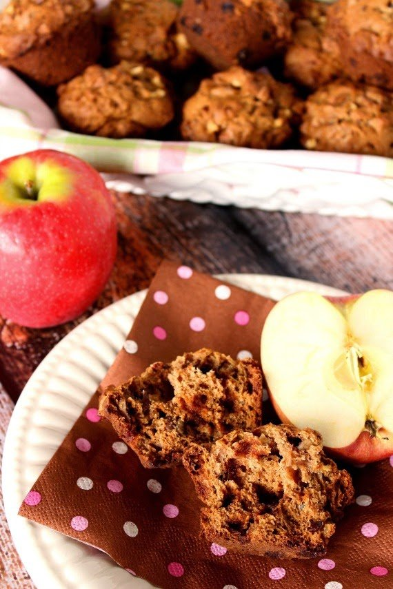 Applesauce Cinnamon Chip Muffin Recipe