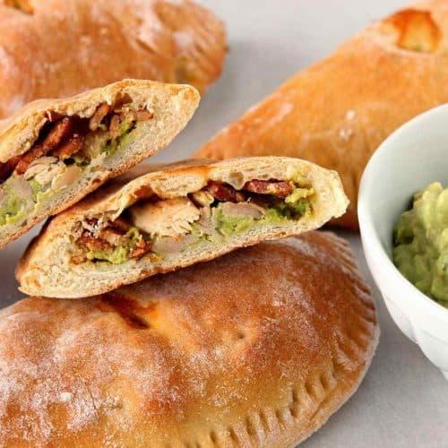 Chicken Avocado Wraps for on-the-go eating. - kudoskitchenbyrenee.com