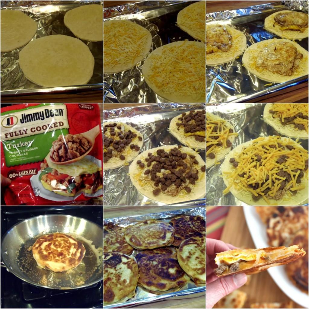 Sausage and Egg Quesadilla Recipe