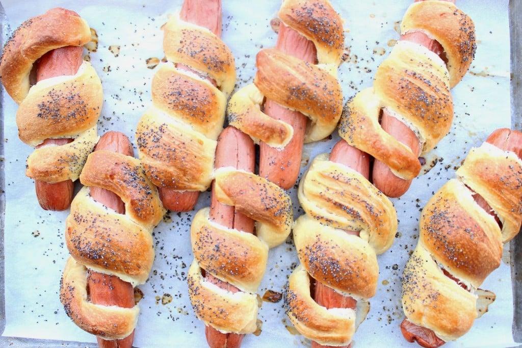 Challah Hot Dog Recipe via Kudos Kitchen By Renee