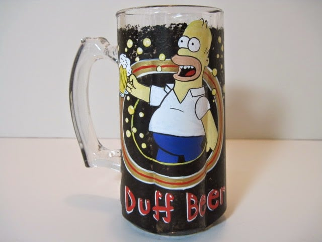 Duff Beer painted stein