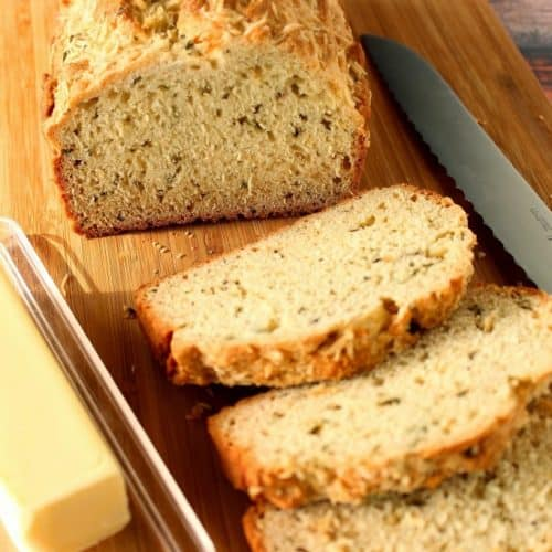 soda bread with fresh herbs