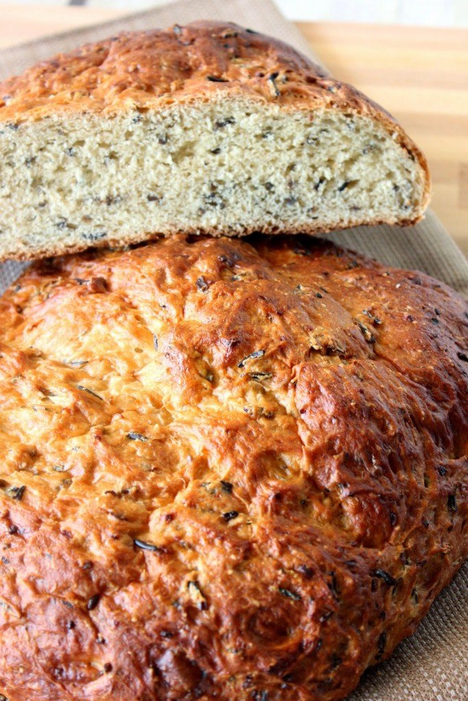 Wile Rice and Onion Bread