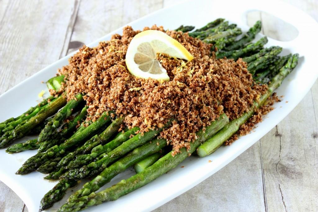 Asparagus with Seasoned Breadcrumbs Recipe