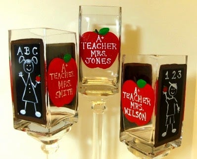 Teacher pencil jars