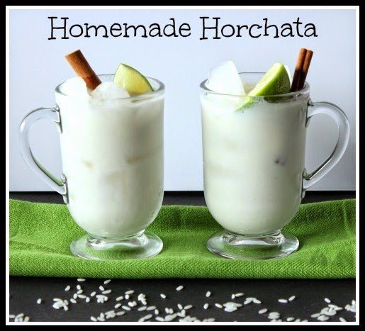 Homemade Horchata Recipe
