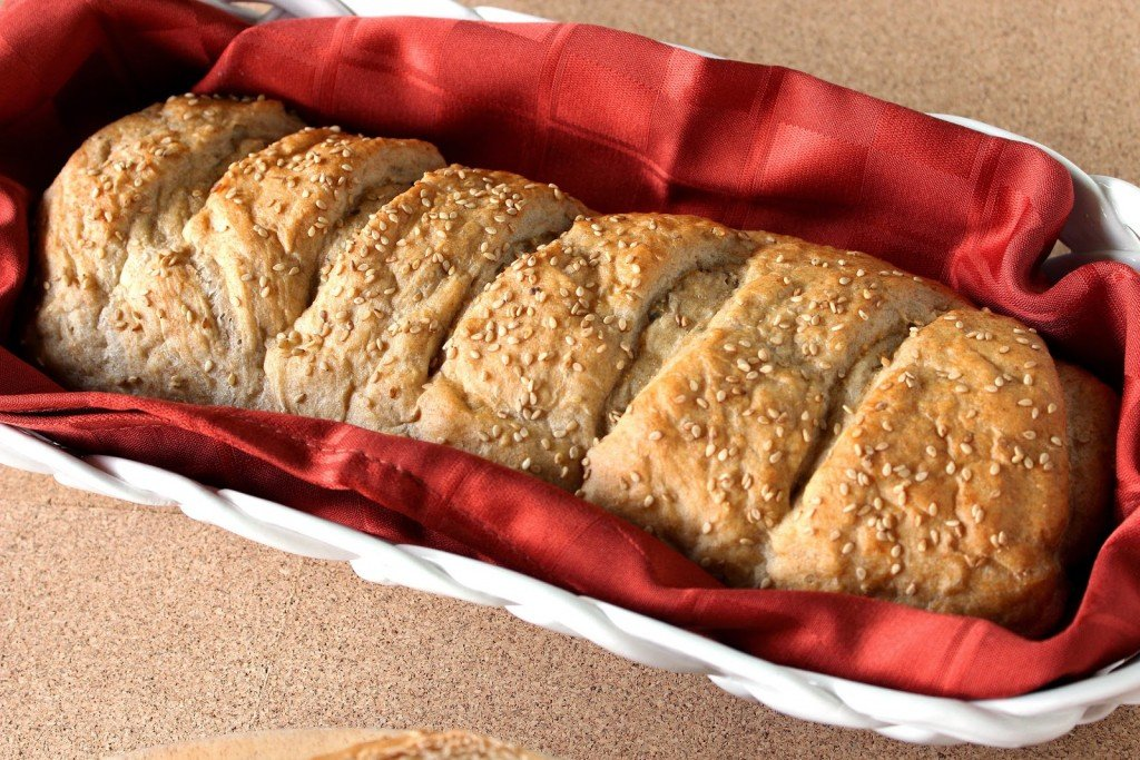 No-Rise Whole Wheat French Bread is perfect for when you want homemade bread but don't have 2 hours to spare.