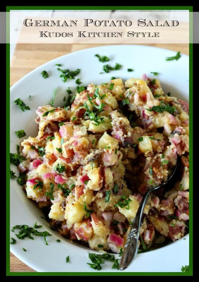 German Potato Salad Recipe - Kudos Kitchen Style