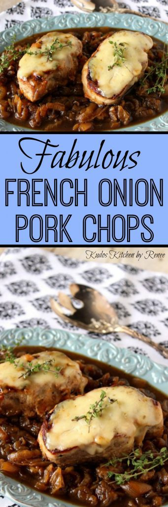 Boneless French Onion Pork Chops - kudoskitchenbyrenee.com