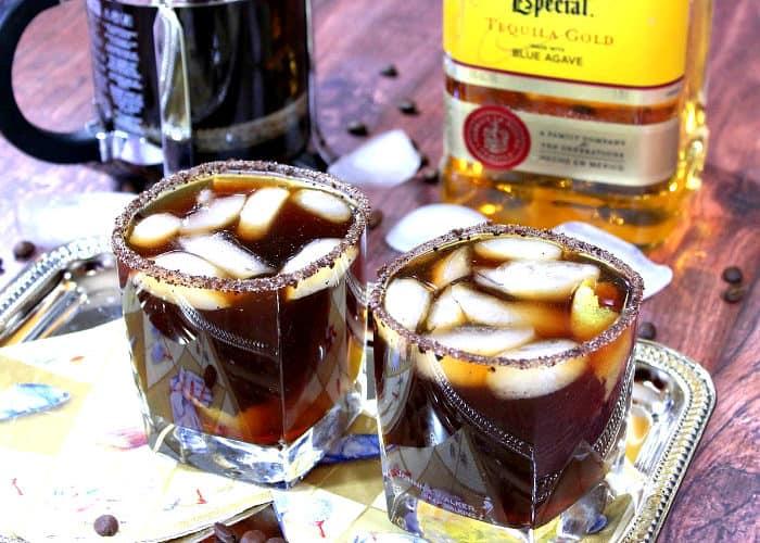 Iced Coffee Margarita